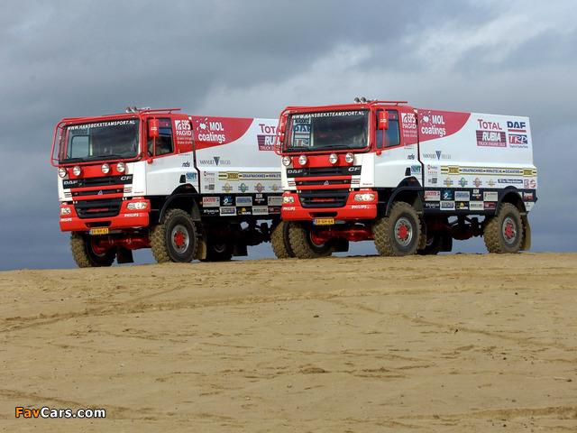 Photos of DAF CF Rally Truck 2002–06 (640 x 480)
