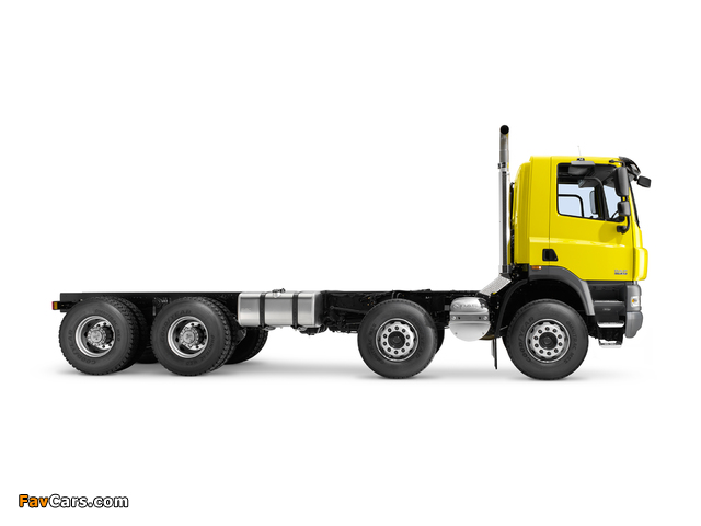 Photos of DAF CF85.460 8x4 FAD Day Cab Chassis 2006–13 (640 x 480)