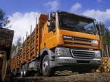 Pictures of DAF CF85.460 6x4 FAT Sleeper Cab Timber Truck 2006–13