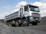 Pictures of DAF CF85.410 8x4 FAD Day Cab Meiller-Kipper 2006–13