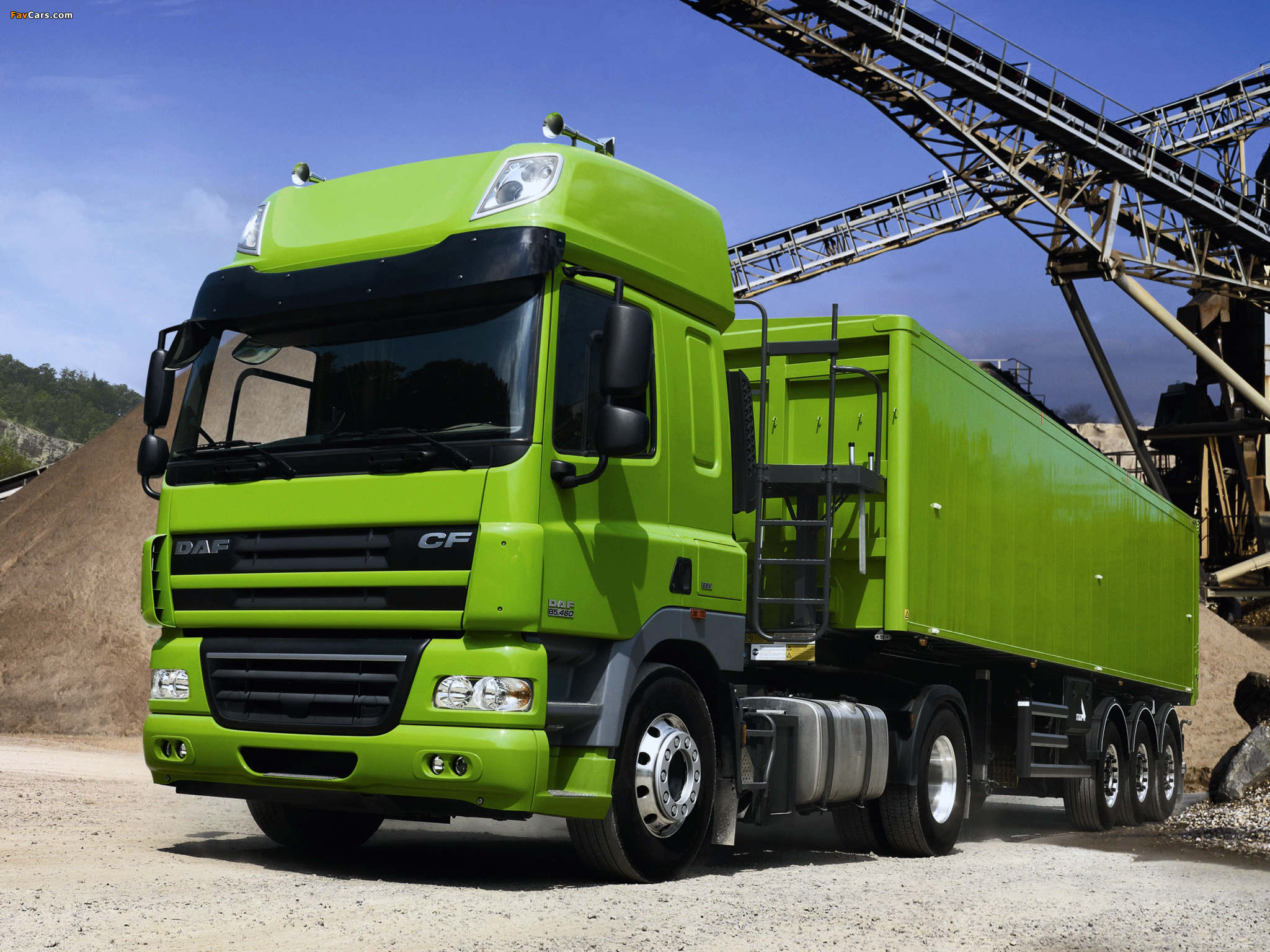 Pictures of DAF CF85.460 4x2 FT Space Cab 2006–13 (2048 x 1536)