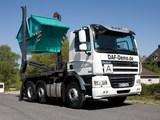Pictures of DAF CF85.460 6x2 FAG Day Cab Meiller-Kipper 2006–13
