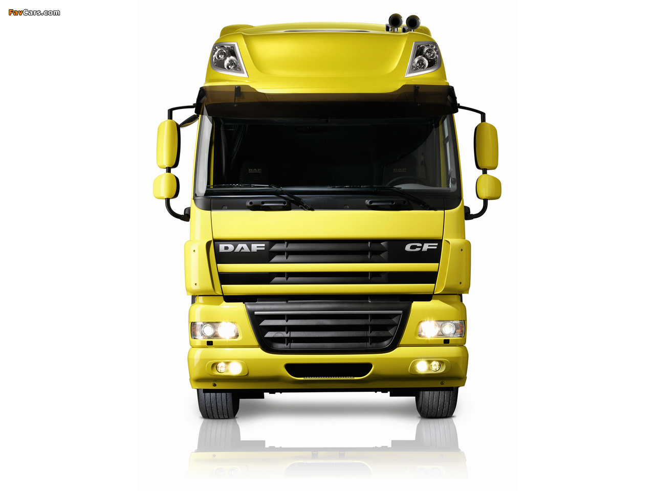 DAF CF85.510 4x2 FT Space Cab 2006–13 wallpapers (1280 x 960)