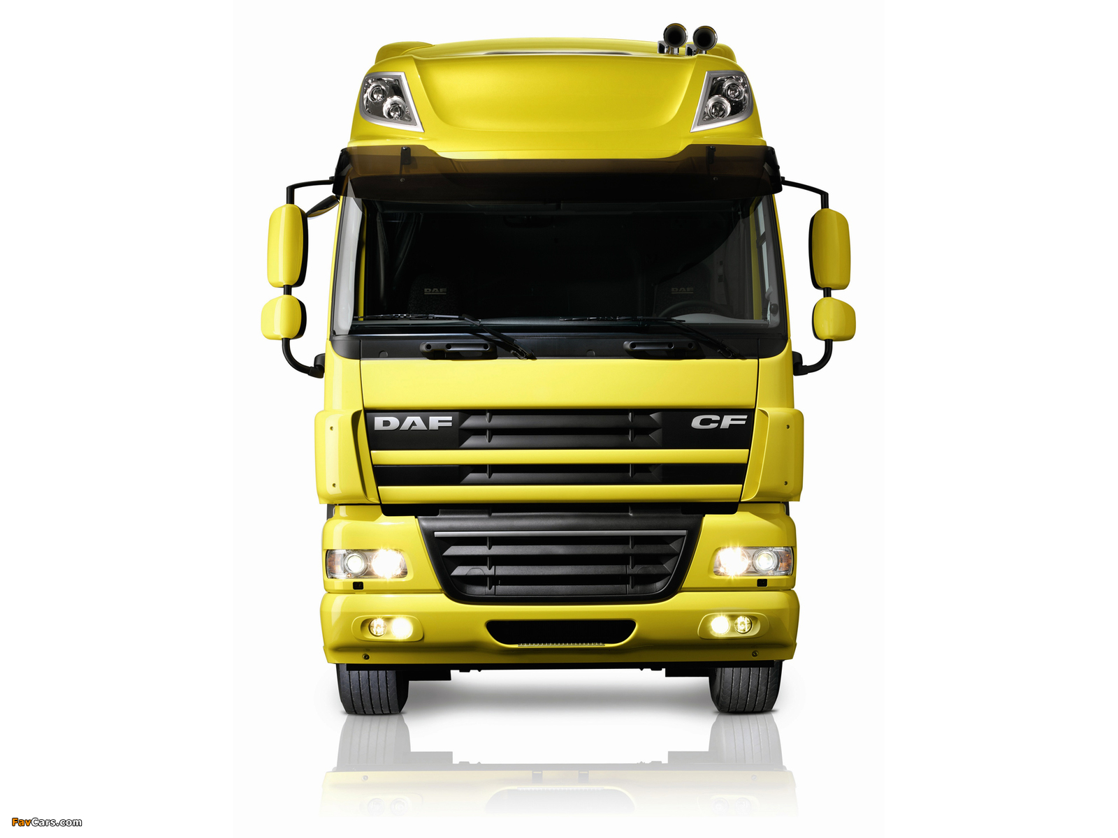 DAF CF85.510 4x2 FT Space Cab 2006–13 wallpapers (1600 x 1200)
