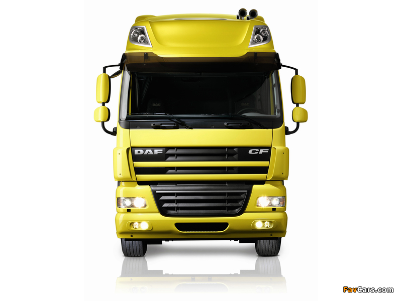 DAF CF85.510 4x2 FT Space Cab 2006–13 wallpapers (800 x 600)