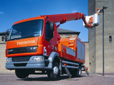 Pictures of DAF LF55 4x2 FA Day Cab Lift Platform 2006–13