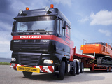 DAF XF95 8x4 FTM Space Cab 2002–06 images