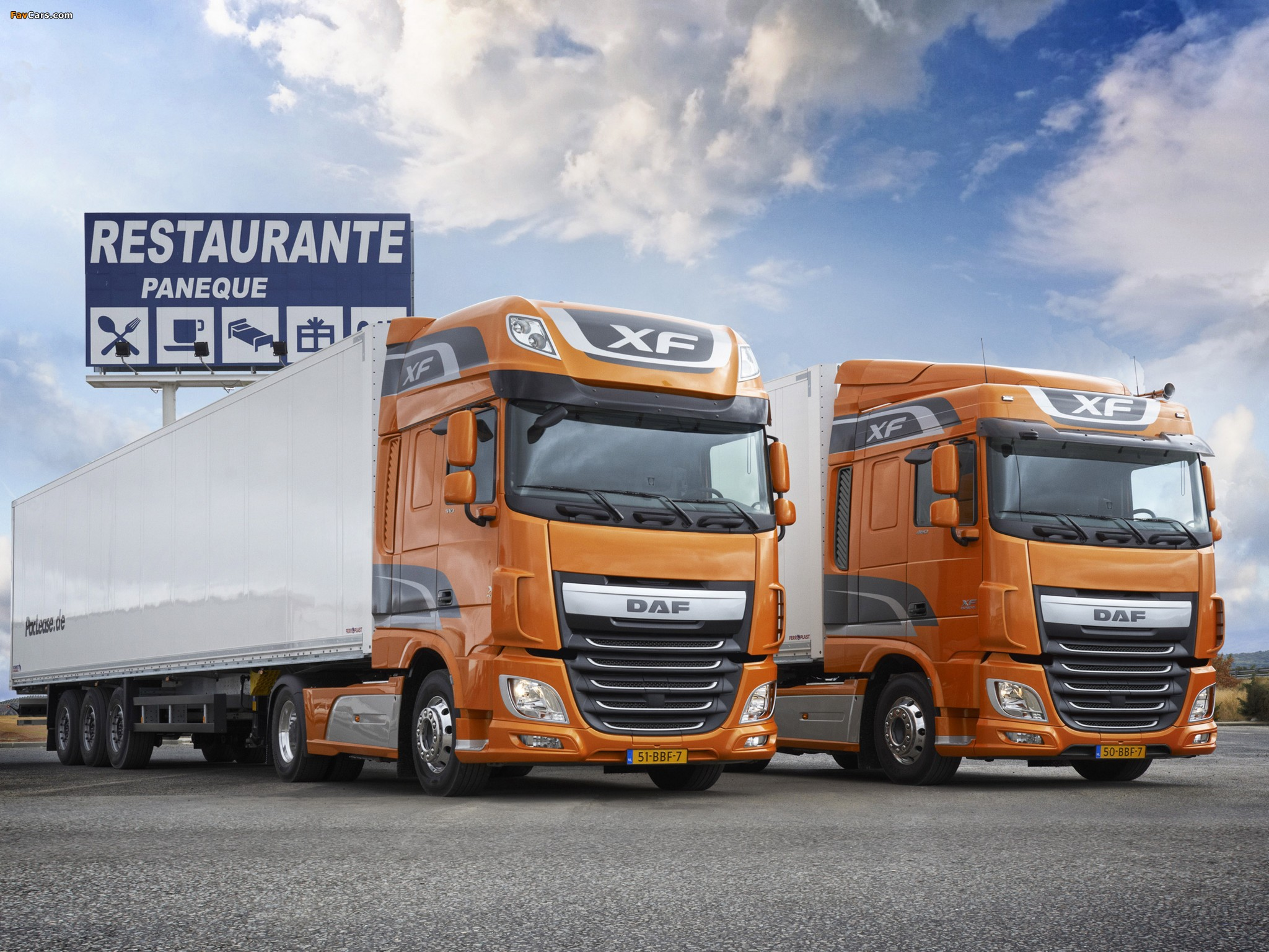 DAF XF 2012 wallpapers (2048 x 1536)
