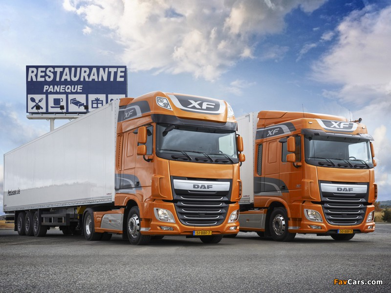 DAF XF 2012 wallpapers (800 x 600)