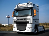 DAF XF105 White Edition 2009 wallpapers