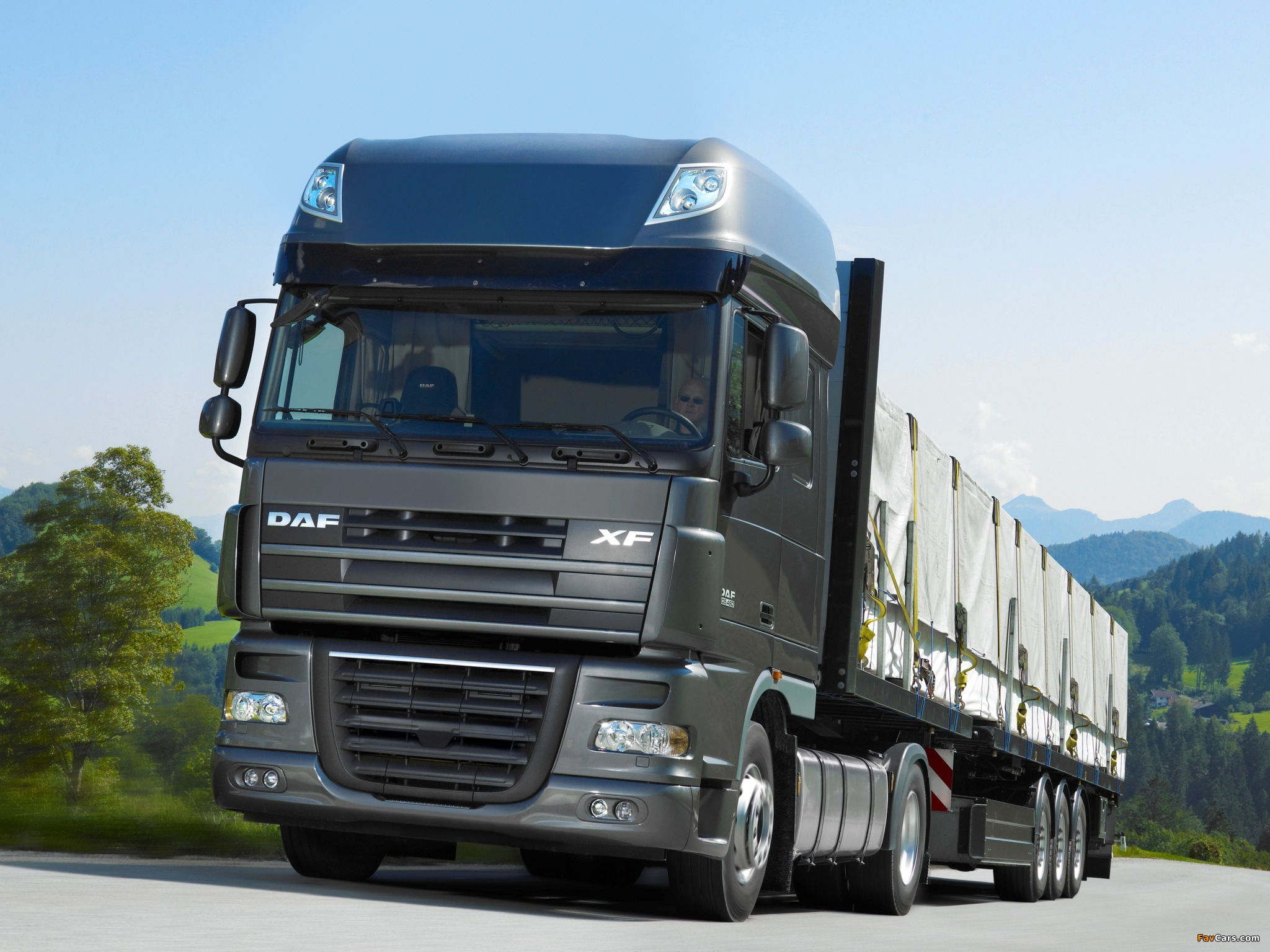 Images of DAF XF105 2006 (2048 x 1536)