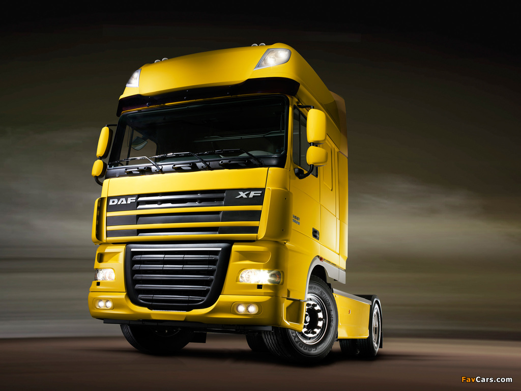 Images of DAF XF105 4x2 FT Super Space Cab 2006–12 (1024 x 768)