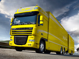 Images of DAF XF105 6x2 FAS Super Space Cab 2006–12
