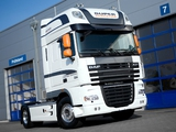 Pictures of DAF XF105 White Edition 2009