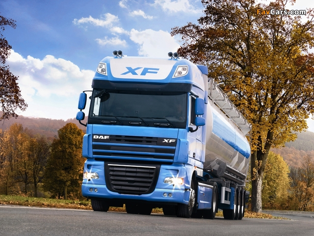 Pictures of DAF XF105 2006 (640 x 480)