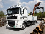 Pictures of DAF XF105 6x2 FAS Space Cab 2006–12