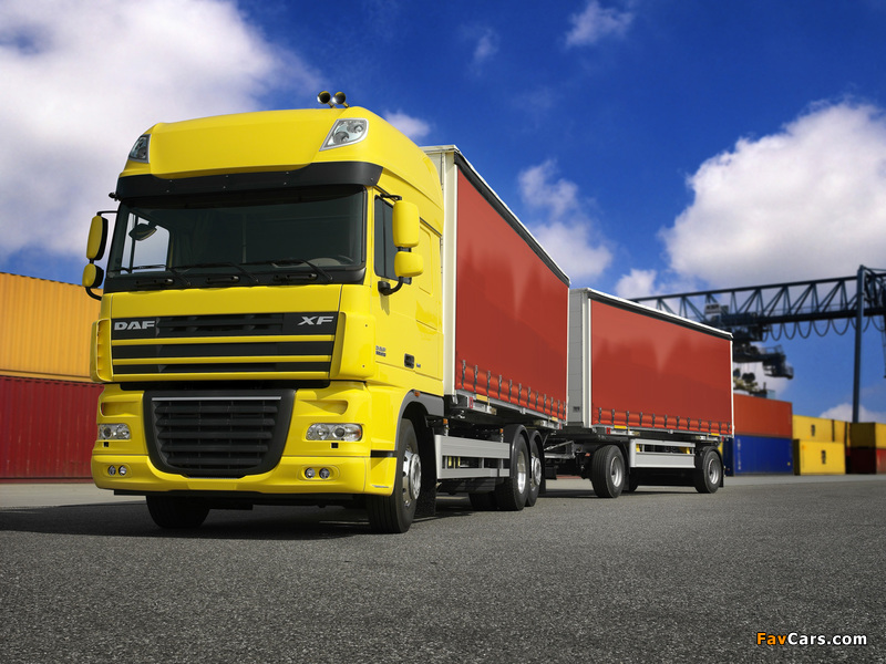 Pictures of DAF XF105 6x2 FAS Super Space Cab 2006–12 (800 x 600)