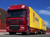 DAF XF105 6x2 FAS Super Space Cab 2006–12 wallpapers