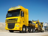 DAF XF105 6x2 FTG Super Space Cab 2006–12 wallpapers