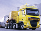 DAF XF105 8x4 FTM Super Space Cab 2006–12 wallpapers