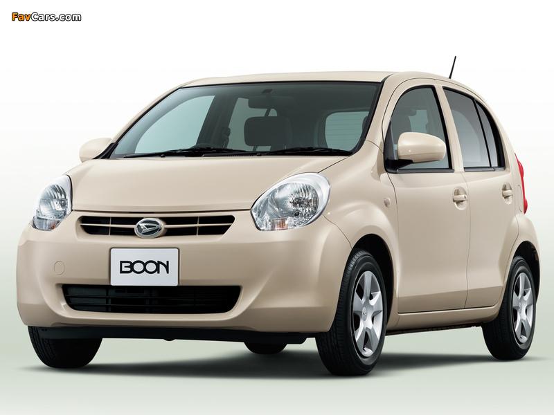 Daihatsu Boon 2010–14 images (800 x 600)