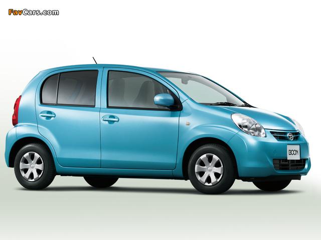 Daihatsu Boon 2010–14 photos (640 x 480)