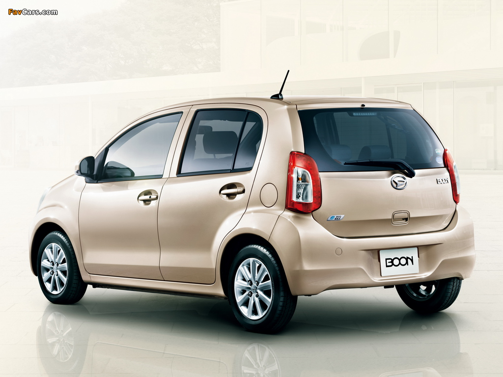 Images of Daihatsu Boon 2014 (1024 x 768)