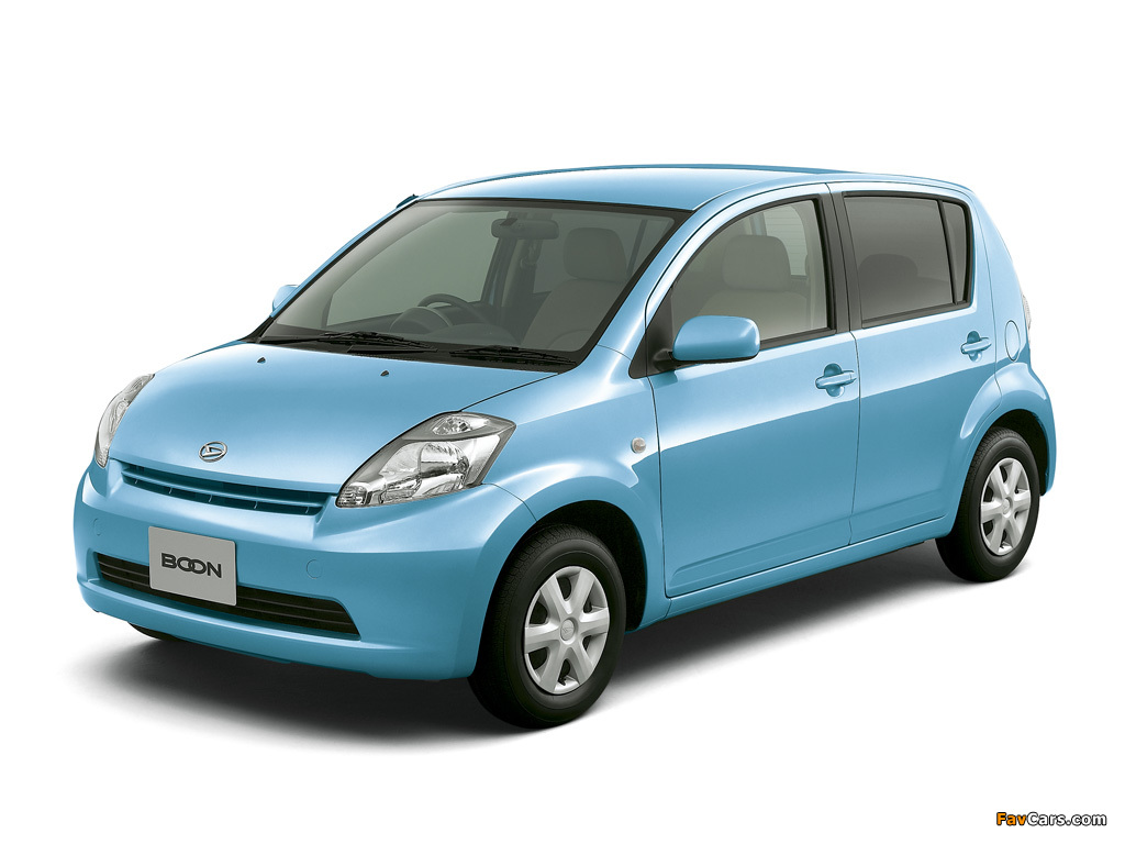 Pictures of Daihatsu Boon 2004–10 (1024 x 768)