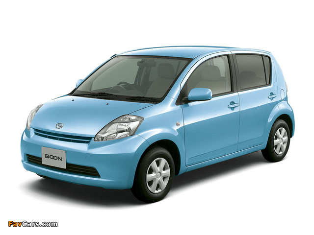 Pictures of Daihatsu Boon 2004–10 (640 x 480)