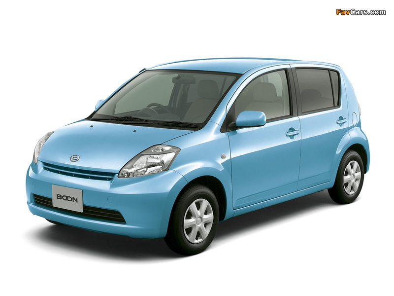 Pictures of Daihatsu Boon 2004–10 (800 x 600)