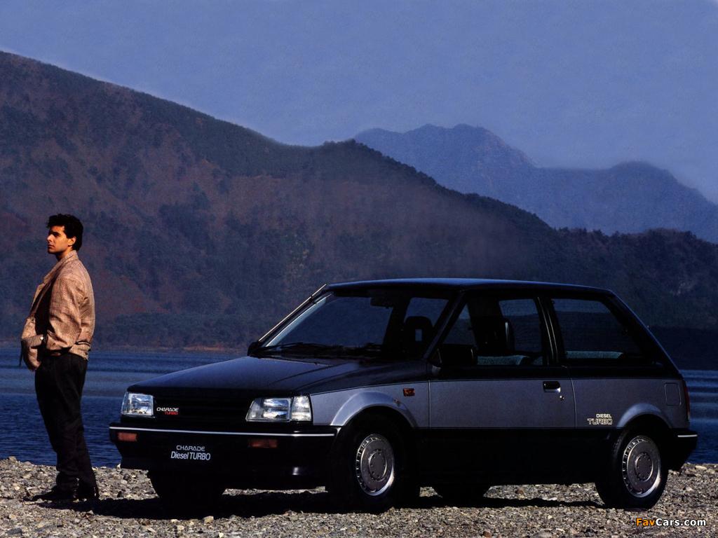 Daihatsu Charade Turbo 3-door (G30) 1985–87 images (1024 x 768)