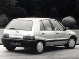 Daihatsu Charade CX Diesel Turbo UK-spec (G100) 1987–88 pictures