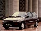Daihatsu Charade GTti (G100) 1987–93 wallpapers