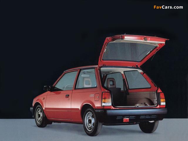 Daihatsu Charade Van (G11) images (640 x 480)