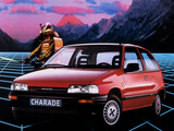 Daihatsu Charade CLX 1.3 16v (G112) 1988–92 wallpapers