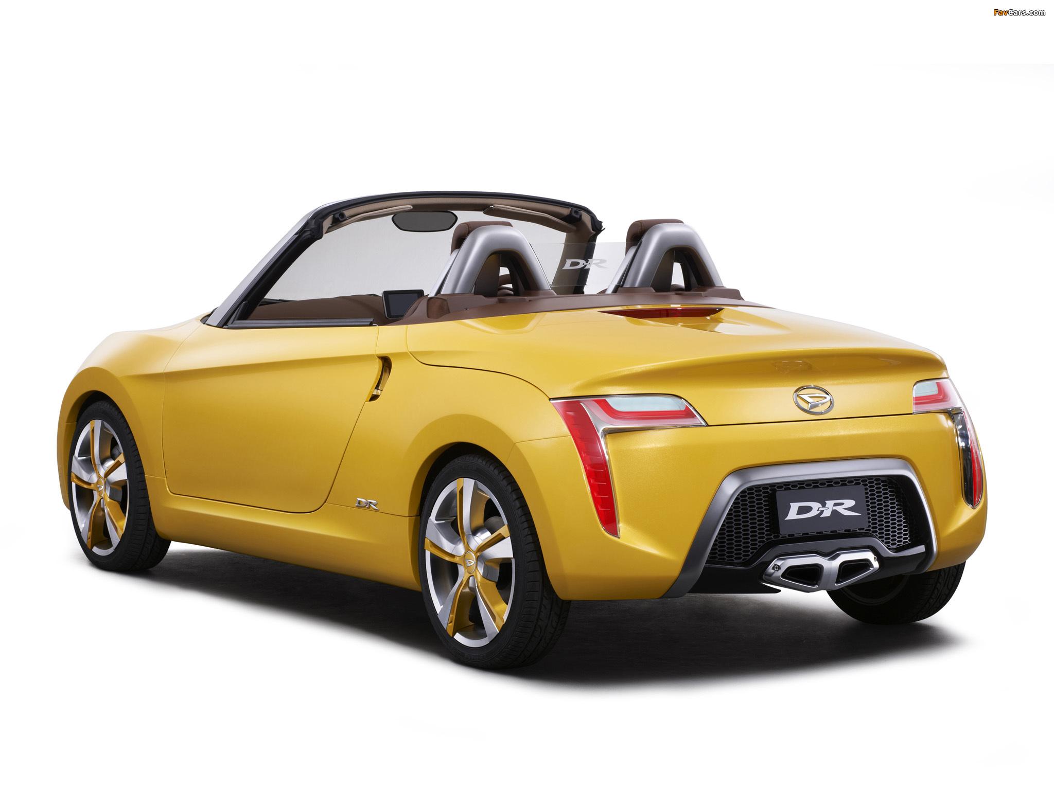 Daihatsu D-R Concept 2012 photos (2048 x 1536)