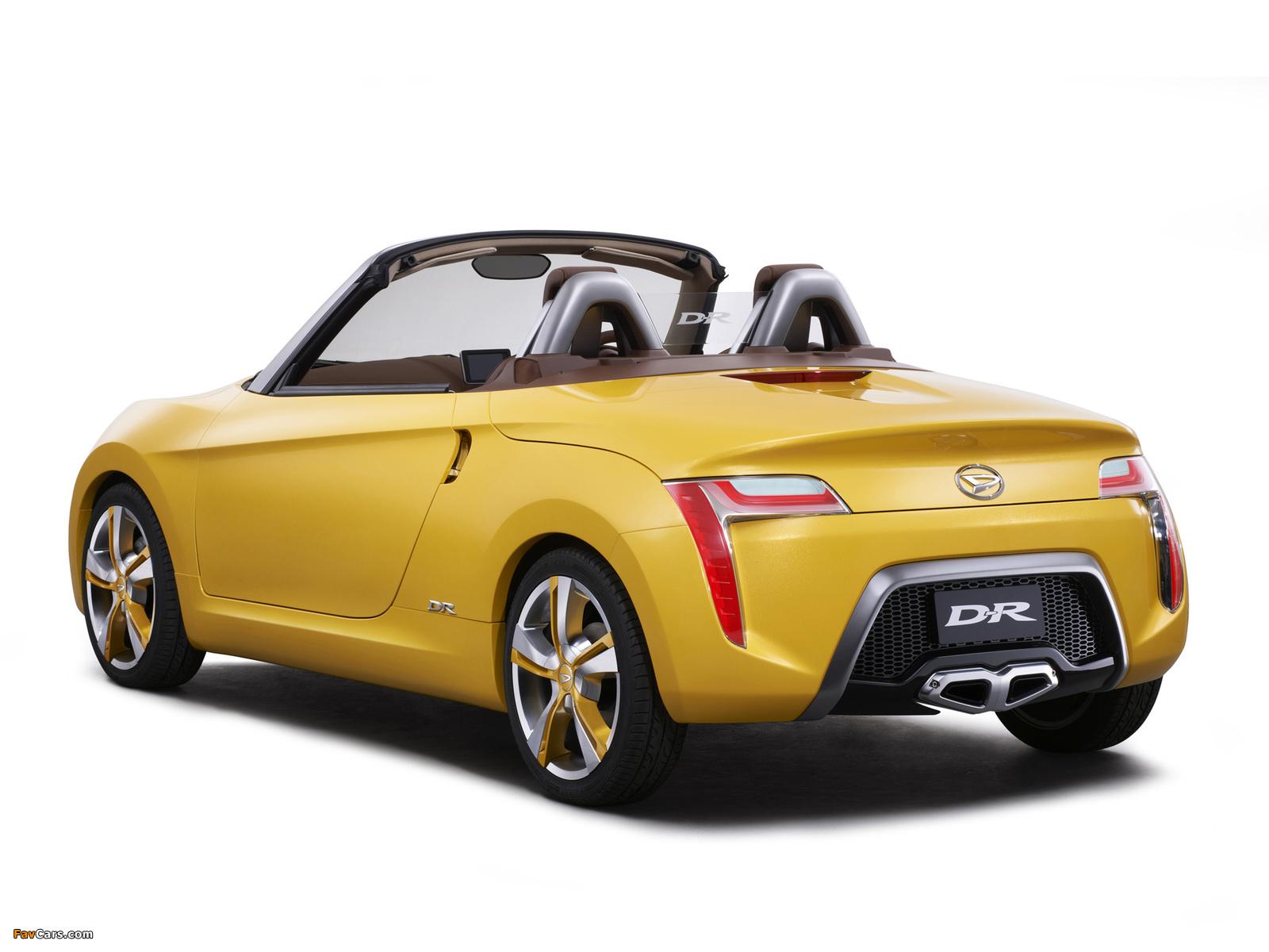 Daihatsu D-R Concept 2012 photos (1600 x 1200)