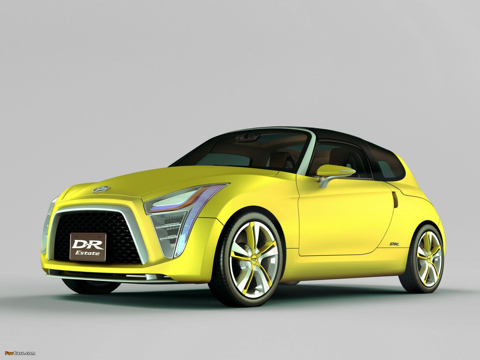 Daihatsu D-R Estate Concept 2013 photos (1600 x 1200)