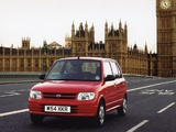 Wallpapers of Daihatsu Cuore Plus UK-spec (L7) 1999–2001