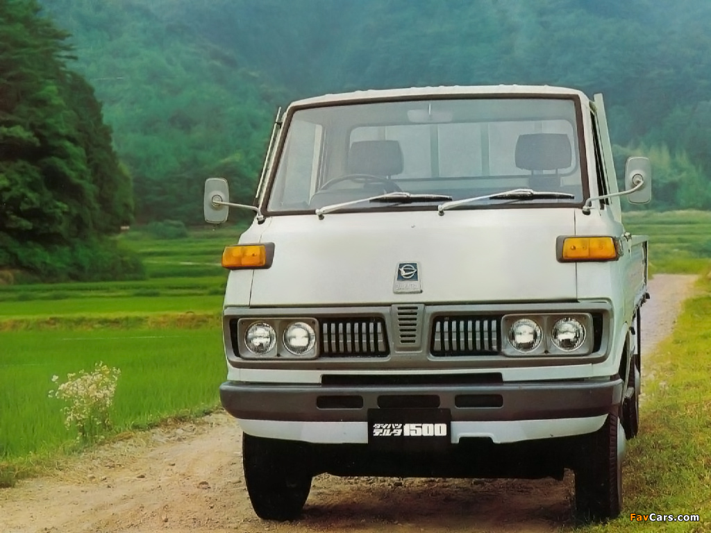 Daihatsu Delta 1500 1970–77 pictures (1024 x 768)