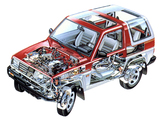 Daihatsu Feroza Resin Top 1989–94 wallpapers
