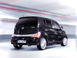 Daihatsu Materia Black Edition 2009–10 wallpapers