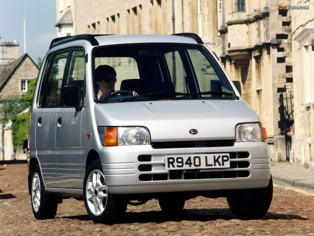 Images of Daihatsu Move Plus UK-spec (L600S) 1997–98 (1024 x 768)