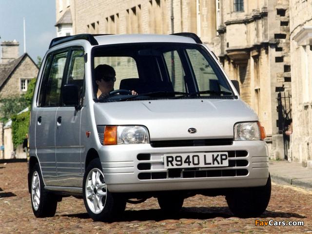 Images of Daihatsu Move Plus UK-spec (L600S) 1997–98 (640 x 480)