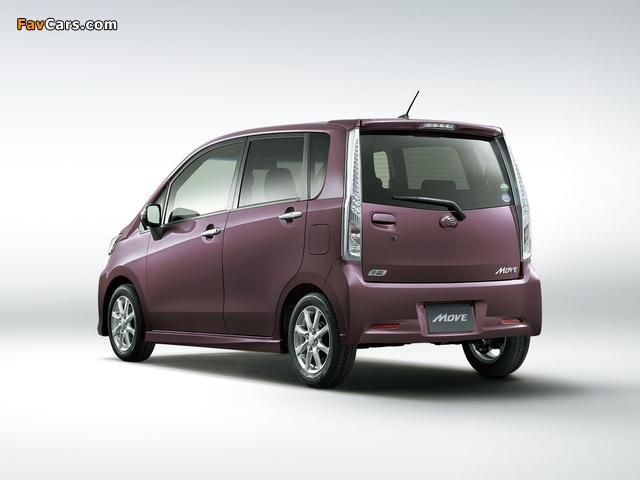 Images of Daihatsu Move Custom (LA110S) 2012 (640 x 480)