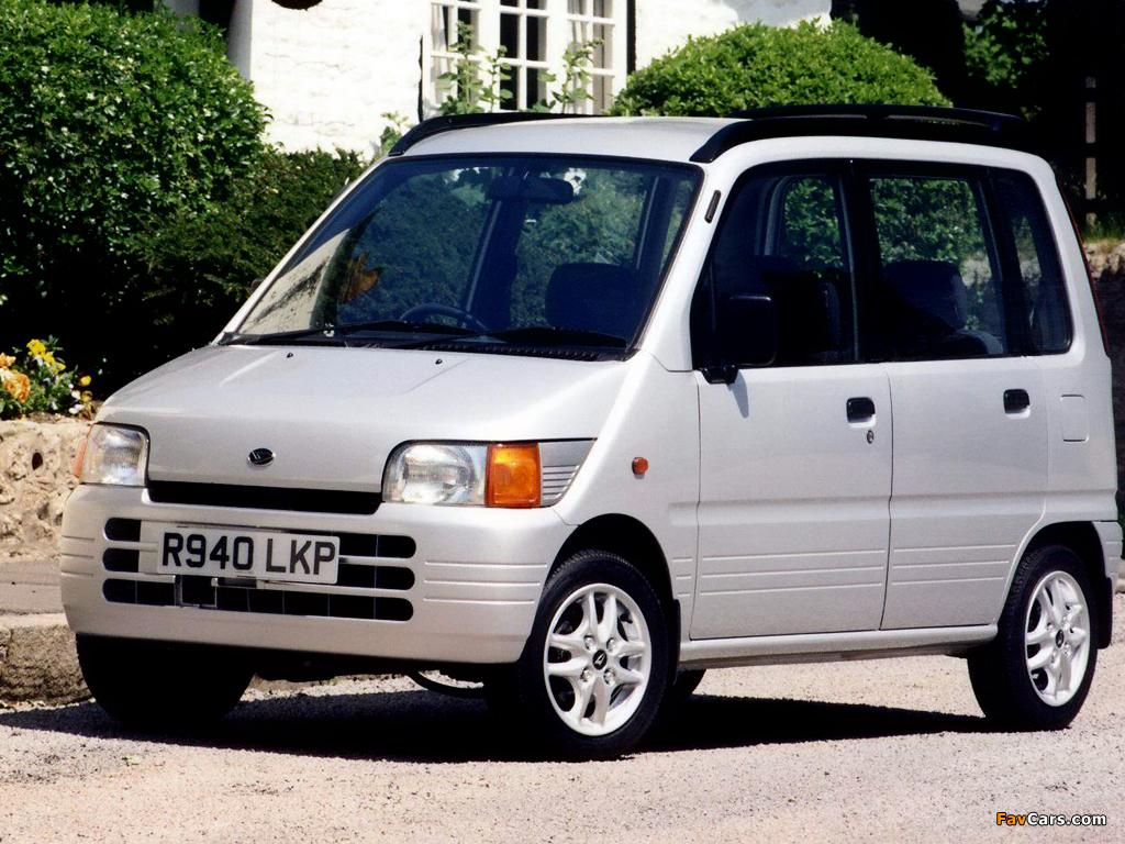 Daihatsu Move Plus UK-spec (L600S) 1997–98 wallpapers (1024 x 768)