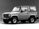 Photos of Daihatsu Rocky Soft Top 1987–93
