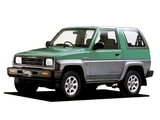 Photos of Daihatsu Rocky SX Full-Time 4WD (F300S) 1990–93