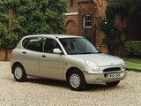 Daihatsu Sirion UK-spec 1998–2001 images