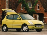 Daihatsu Sirion UK-spec 1998–2001 wallpapers